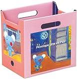 ペネロペ カラーボックス用ボックス ハーフサイズ ピンク PL-17