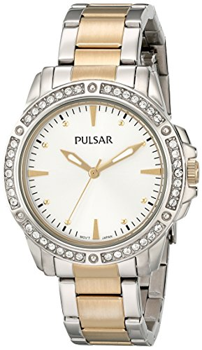 Pulsar Three-Hand Stainless Steel - Two-Tone Women's watch #PH8093