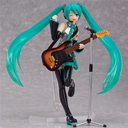 Hot 14cm Figma 200 Miku Hatsune PVC Action Figure Nendoroid Petit Vocaloid figure Toys With Box