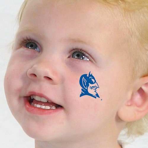 NCAA Duke Blue Devils Temporary Tattoos at Amazon.com