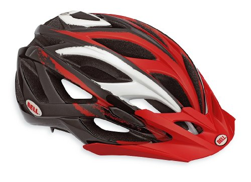 Bell Sequence Bicycle Mountain Helmet, Black/Red, Small