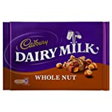 Cadbury Dairy Milk Whole Nut Bar 4x360g