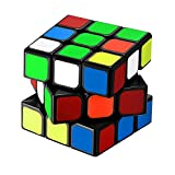 Newisland Professional Edition Speed Cube Optimum Structure For Speed Cubing Gift Packaging Great Corner Cutting Puzzle Cube Lightning (Black)