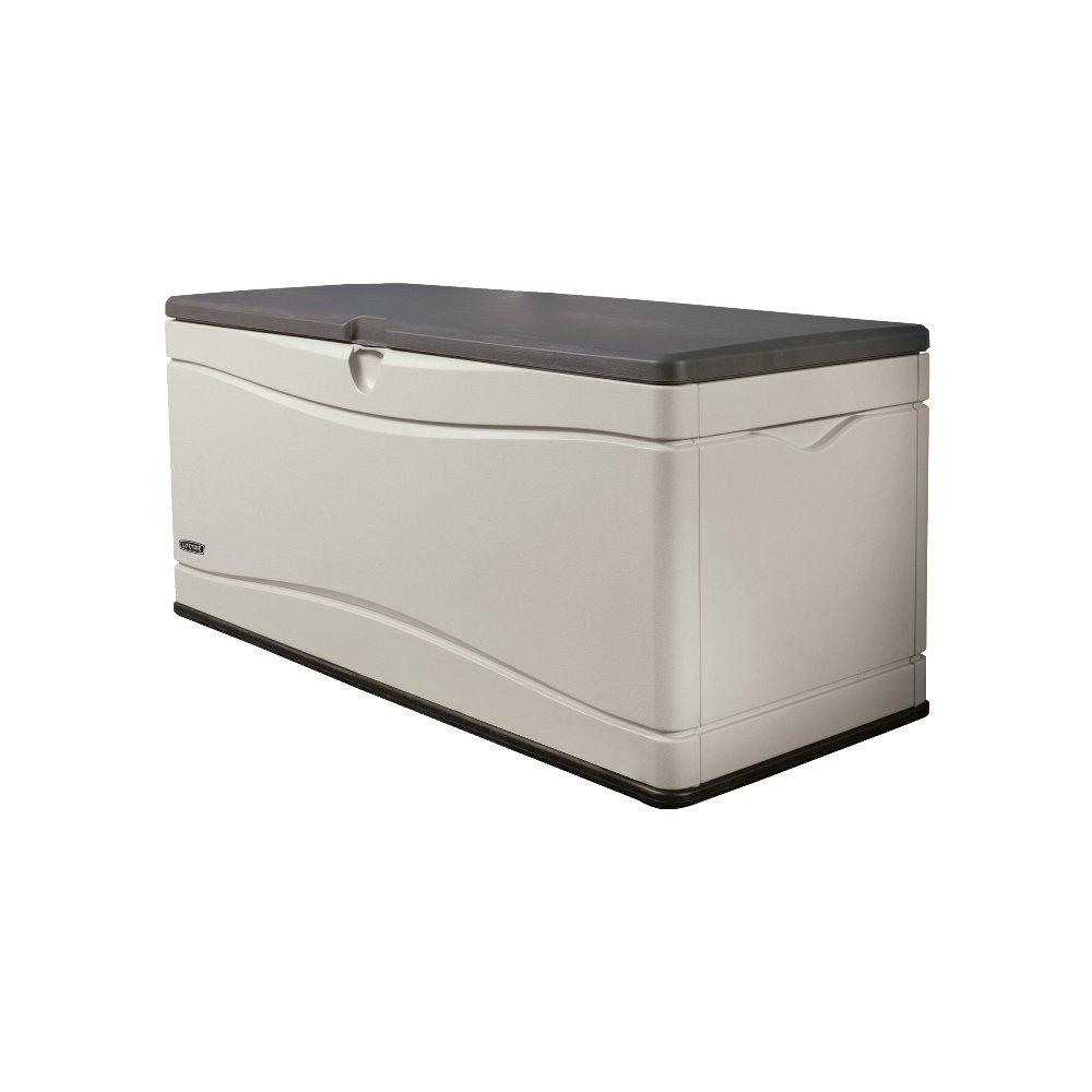 Lifetime XXL Gartenbox Kissenbox Gartentruhe Auflagenbox 153x61x66 (LxBxH) 495l // Multibox mit 450kg Traglast