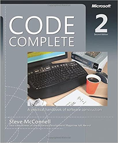 Code Complete 2 book cover