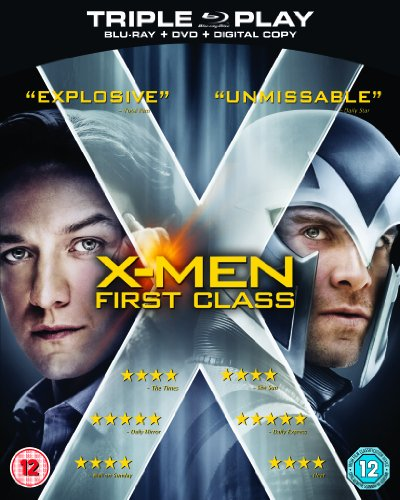 X-Men: First Class - Triple Play (Blu-ray + DVD
