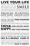 Motivational - Poster - Live Your Lif...