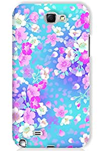 IndiaRangDe Case For Samsung Galaxy Note 2 II N7100 Printed Back Cover