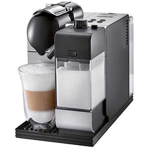 DeLonghi Lattissima Nespresso Silver Capsule Espresso and Cappuccino Machine (En520 Delonghi compare prices)
