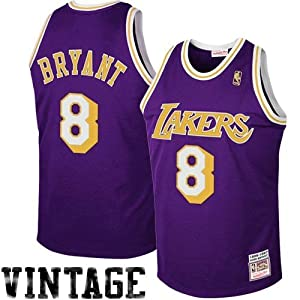 NBA Mitchell & Ness Los Angeles Lakers #8 Kobe Bryant Purple 1997 Authentic... by Mitchell & Ness