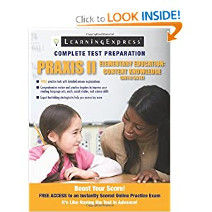 praxis ii content knowledge of elementary education Education the need for primary through upper elementary teachers continues to grow—as does the competition for top jobs taking the praxis ii: elementary education content knowledge test is an essential part of becoming a primary- or secondary school teacher in many states, and praxis ii.