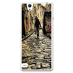 a AND b Designer Printed Mobile Back Cover / Back Case For Sony Xperia C4 (SONY_C4_1536)