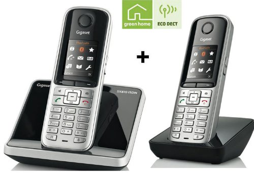gigaset sx810 isdn duo preisvergleich telefon g nstig. Black Bedroom Furniture Sets. Home Design Ideas