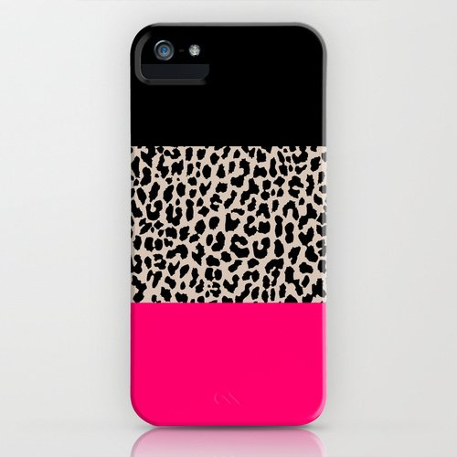 society6 Leopard National Flag IV iPhone GALAXY ケース [並行輸入品] (iPhone5/5s)