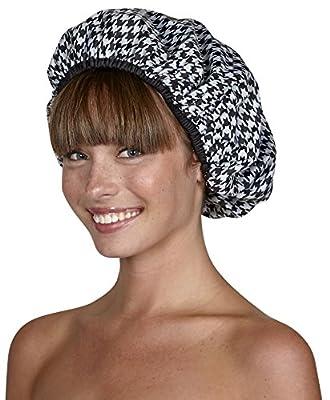 Betty Dain Stylish Design Terry Lined Shower Cap