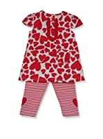 Pitter Patter Baby Gifts Conjunto (Rojo)