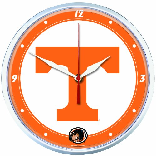NCAA Tennessee Volunteers Round Clock