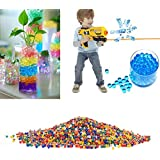 Pearl Shaped Water Jelly Balls For Toy Guns, Crystal Soil Water Beads Mud Grow Magic Jelly Balls Home Decor -...