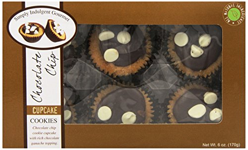 Too Good Gourmet Bakery Box Cupcake Cookies, Chocolate Chip, 6 Ounce
