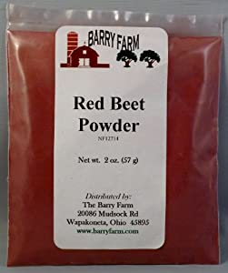 Red Beet Powder, 2 oz.