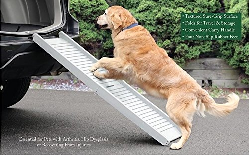 Artikelbild: UPP® Hunderampe klappbar / Hundetreppe / Klapprampe / Einstiegshilfe