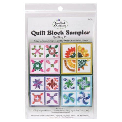 Quilling Kit, Quilt Block Sampler