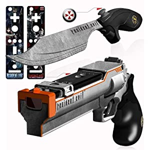 Resident Evil Magnum Blaster and Knife Set