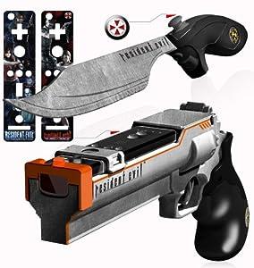 Resident Evil Magnum Blaster and Knife Set - Nintendo Wii
