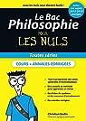 Le Bac Philosophie pour les Nuls par Godin