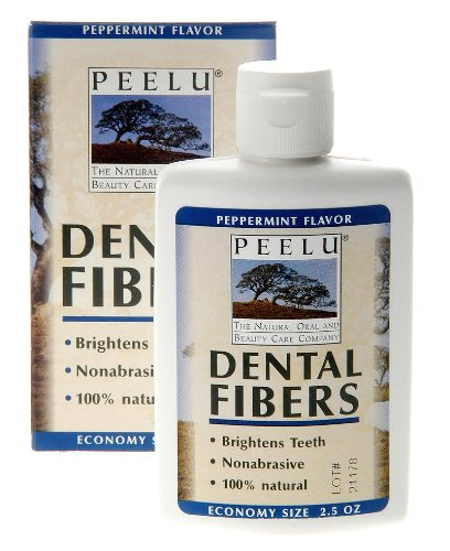 Peelu Company Peelu Tooth Powder Peppermint 2.5 Oz