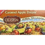 Celestial Seasonings Tea, Caramel Apple Dream, 20 Count Tea Bags