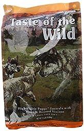 Taste of the Wild Grain-Free High Prairie Dry Dog Food for Puppy, 15-Pound Bag