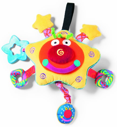 Manhattan Toy Whoozit Starz Lights and Sounds Stroller and Travel Activity Toy