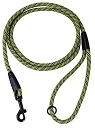 Hurtta Collection Mountain Rope Leash, 6-Feet by 1/3-Inch, Birch
