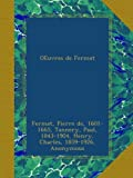 img - for OEuvres de Fermat: 4 (French Edition) book / textbook / text book