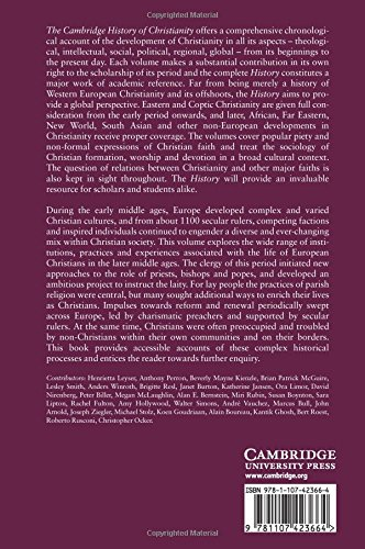 The Cambridge History of Christianity: Volume 4