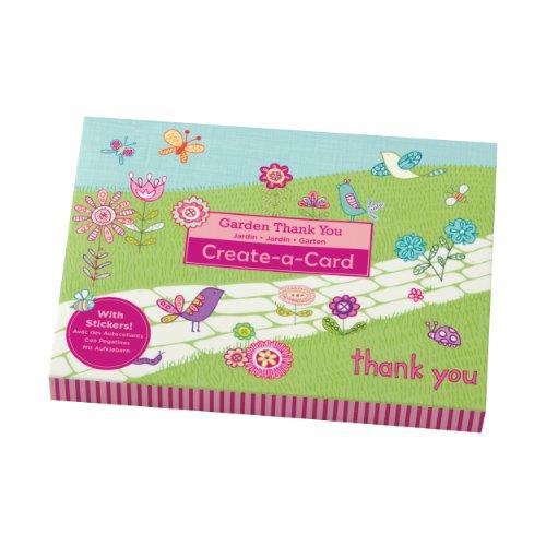 Mudpuppy Garden Thank You Create-a-card - 1