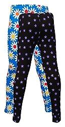 Little Stars Girls' Cotton Regular Fit Leggings- Pack of 2 (Po2Gpl_3221_22, Multi-Colour, 3-4 Years)