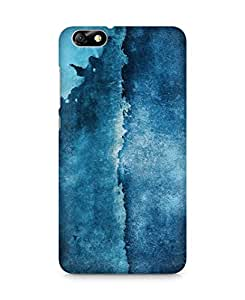 Amez designer printed 3d premium high quality back case cover for Huawei Honor 4X (Blue Pattern)