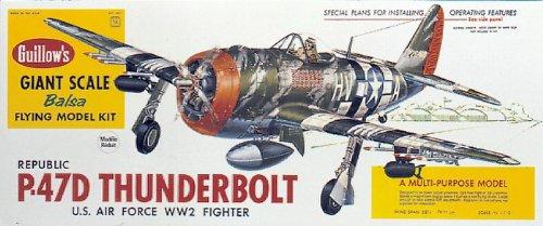 Guillows 1/16 Republic P.47D Thunderbolt # 1001