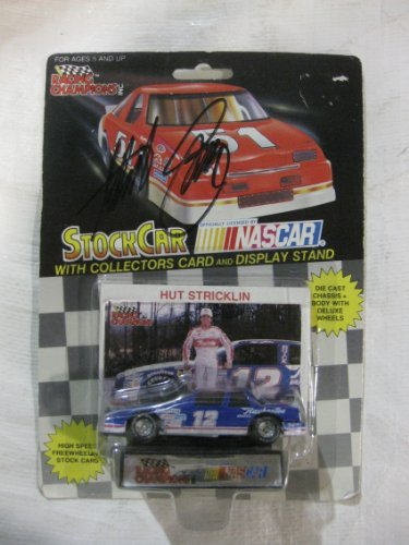 Nascar #12 Raybestos Hut Stricklin 1:64 with Collectors Card & Stand 1991 Racing Champions