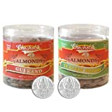 Chocholik Dry Fruits - Almonds Gulkand & Italian Herbs With 5gm X 2 Pure Silver Coins - Diwali Gifts - 2 Combo...