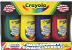Crayola 4 Washable Finger Paints in B...