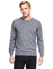 Blue Harbour Pure Cotton Twisted Knit Jumper