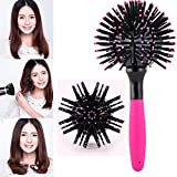 3d Spherical Comb Japan Lucky Bomb Curl Brush Full Round Hot Curling Styling Brush