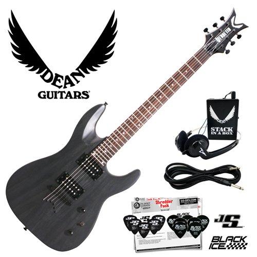 best buy dean vendetta xm transparent black satin vnxm tbks electric guitar with planet waves. Black Bedroom Furniture Sets. Home Design Ideas