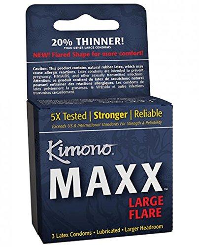 Kimono Maxx Condom Pack Of 3