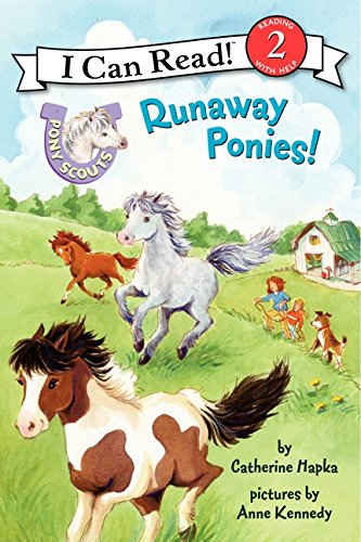 Pony Scouts: Runaway Ponies! (I Can Read Level 2) (I Can Read Book Level 2 compare prices)