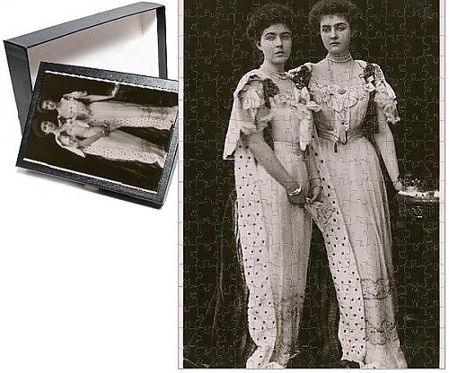 Photo Jigsaw Puzzle of Crown Princess of Sweden and Princess Patricia of Connaught (Ermine Robe)