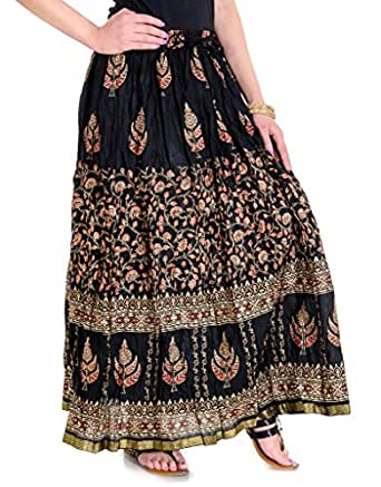 Simple Sequined Long Womens Skirt In White From India  SequinSkirts  Sale
